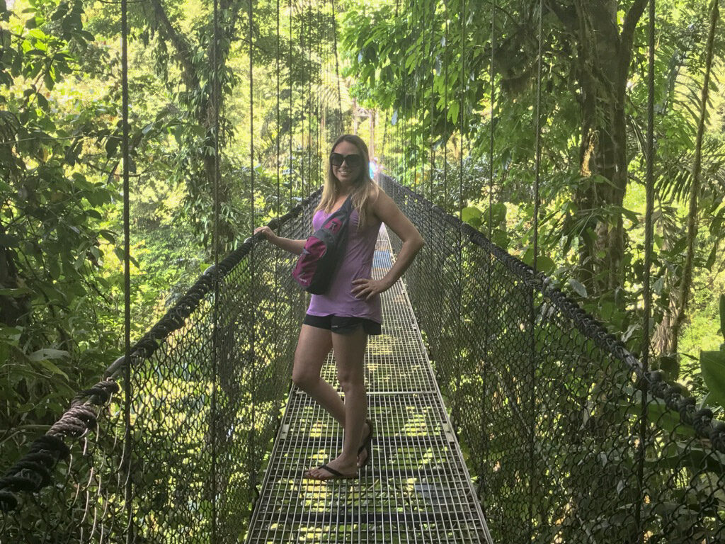 hanging bridges costa rica