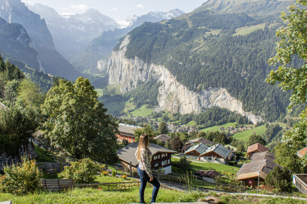 lauterbrunnen switzerland andra birkhimer, wengen switzerland